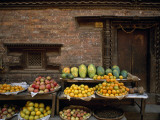 Fruit on Display at a Street Market Photographic Print by Jodi Cobb