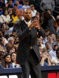 New Orleans Hornets v Dallas Mavericks: Monty Williams Photographic Print by Layne Murdoch