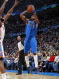 Dallas Mavericks v Oklahoma City Thunder: Jason Terry Photographic Print by Layne Murdoch