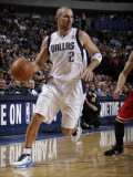 Chicago Bulls v Dallas Mavericks: Jason Kidd Photographic Print by Danny Bollinger