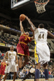 Cleveland Cavaliers  v Indiana Pacers: Ramon Sessions and Solomon Jones Photographic Print by Ron Hoskins