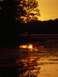 Sunset over Hematite Lake Photographic Print by Raymond Gehman