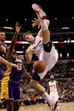 Los Angeles Lakers v Los Angeles Clippers: Blake Griffin, Matt Barnes and Ron Artest Photographic Print by  Stephen