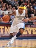San Antonio Spurs v Denver Nuggets: Carmelo Anthony Photographic Print by Garrett Ellwood