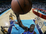 Oklahoma City Thunder v New Orleans Hornets: Kevin Durant Photographic Print by Layne Murdoch