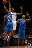 Orlando Magic v Washington Wizards: Nick Young and Chris Duhon Photographic Print by Ned Dishman