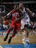 New Jersey Nets v Dallas Mavericks: Terrance Williams and Shawn Marion Photographic Print by Danny Bollinger