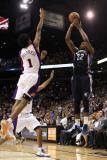 Memphis Grizzlies v Phoenix Suns: Rudy Gay and Josh Childress Photographic Print by  Christian