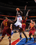 Cleveland Cavaliers  v Philadelphia 76ers: Jrue Holiday and Joey Graham Photo by Jesse D. Garrabrant