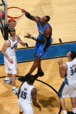 Orlando Magic v Washington Wizards: Dwight Howard, Kirk Hinrich and Alonzo Gee Photographic Print by Ned Dishman