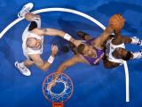 Phoenix Suns v Orlando Magic: Garret Siler and Brandon Bass Photographic Print by Fernando Medina