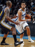 Utah Jazz v New Orleans Hornets: Marco Belinelli and Raja Bell Photographic Print by Layne Murdoch