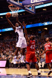 Philadelphia 76ers v Orlando Magic: Brandon Bass and Elton Brand Photographic Print by Sam Greenwood