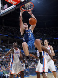 Minnesota Timberwolves v Oklahoma City Thunder: Darko Milicic Photographic Print by Layne Murdoch