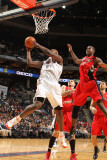 Toronto Raptors v Charlotte Bobcats: Kwame Brown Photographic Print by Brock Williams Smith