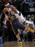Utah Jazz v Dallas Mavericks: Deron Williams and Jason Terry Photographic Print by Glenn James