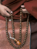 Lama with Prayer Beads Photographic Print by Alison Wright