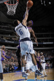 Phoenix Suns v Dallas Mavericks: Tyson Chandler and Hakim Warrick Photographic Print by Glenn James