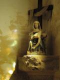 A Pieta in the Church of Notre Dame De Penhors Photographic Print by Jim Richardson