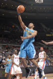 New Orleans Hornets v Detroit Pistons: Willie Green Photographic Print by Allen Einstein