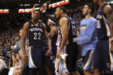 Memphis Grizzlies v Phoenix Suns: Rudy Gay and Xavier Henry Photographic Print by Christian