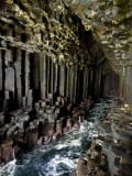 Fingal's Cave on the Isle of Staffa Off the West Coast of Mull Photographic Print by Jim Richardson