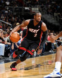 Miami Heat v Washington Wizards: Dwyane Wade Photographic Print by Greg Fiume