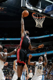 Miami Heat v Washington Wizards: LeBron James and Cartier Martin Photographic Print by Greg Fiume