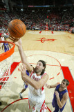 Sacramento Kings v Houston Rockets: Luis Scola Photographic Print by Bill Baptist