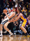 Los Angeles Lakers v Memphis Grizzlies: Marc Gasol and Pau Gasol Photographic Print by Joe Murphy