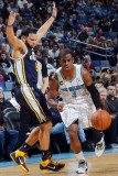 Utah Jazz v New Orleans Hornets: Chris Paul and Deron Williams Photographic Print by Layne Murdoch