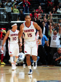 Philadelphia 76ers v Atlanta Hawks: Al Horford Photographic Print by Scott Cunningham