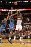 Washington Wizards v Miami Heat: LeBron James Photographic Print by Mike Ehrmann