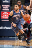 Charlotte Bobcats v Memphis Grizzlies: D.J. Augustin Photographic Print by Joe Murphy