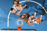 San Antonio Spurs v Minnesota Timberwolves: Kevin Love Photographic Print by David Sherman