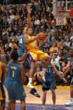 Washington Wizards v Los Angeles Lakers: Shannon Brown Photographic Print by Andrew Bernstein