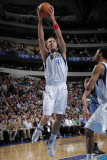 Minnesota Timberwolves v Dallas Mavericks: Dirk Nowitzki Photographic Print by Glenn James