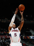 New Jersey Nets v Atlanta Hawks: Josh Smith Photographic Print by Kevin Cox