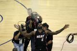 Miami Heat v Golden State Warriors: Lebron James Photographic Print by  Ezra