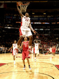 Houston Rockets v Toronto Raptors: Sonny Weems and Kevin Martin Photographic Print by Ron Turenne