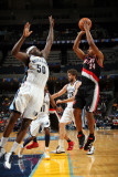 Portland Trail Blazers v Memphis Grizzlies: Andre Miller and Zach Randolph Photographic Print by Joe Murphy