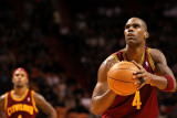 Cleveland Cavaliers  v Miami Heat: Antawn Jamison Photographic Print by Mike Ehrmann