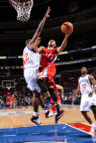 Los Angeles Clippers v Philadelphia 76ers: Eric Gordon and Elton Brand Photographic Print by Jesse D. Garrabrant