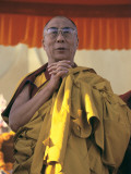 The Dalai Lama in Ceremony Photographic Print by Alison Wright