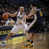 Utah Jazz v Dallas Mavericks: Jason Kidd and Deron Williams Photographic Print by Danny Bollinger