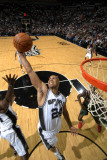 Milwaukee Bucks v San Antonio Spurs: Richard Jefferson Photographic Print by D. Clarke Evans