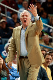 San Antonio Spurs v New Orleans Hornets: Gregg Popovich Photographic Print by Chris Graythen