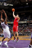 Houston Rockets v Sacramento Kings: Luis Scola and Darnell Jackson Photographic Print by Rocky Widner