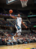 Charlotte Bobcats v Memphis Grizzlies: Rudy Gay Photographic Print by Joe Murphy