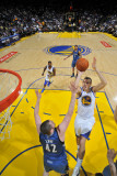 Minnesota Timberwolves v Golden State Warriors: Lou Amundson and Kevin Love Photographic Print by Rocky Widner